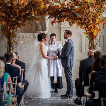 Stylish Events wedding at Aynhoe Park