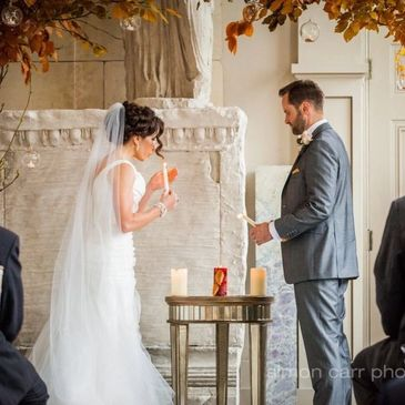 Elegant wedding at Aynhoe Park
