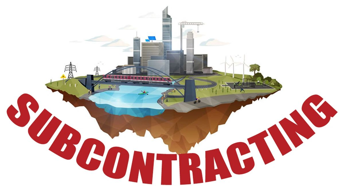 SUBCONTRACTING - SUBCONTRACTS INTERNATIONAL