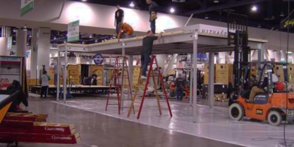 Trade show exhibit installation and dismantle I&D