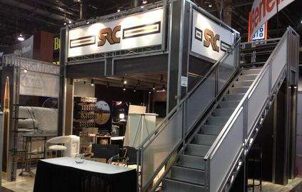 Double Deck trade show booths from Double Decks, Inc. at www.doubedecks.com