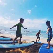 Surfing lessons for all ages and abilities
