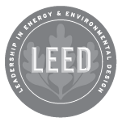 LEED® & related logo is a trademark owned by the U.S. Green Building Council® & used with permission
