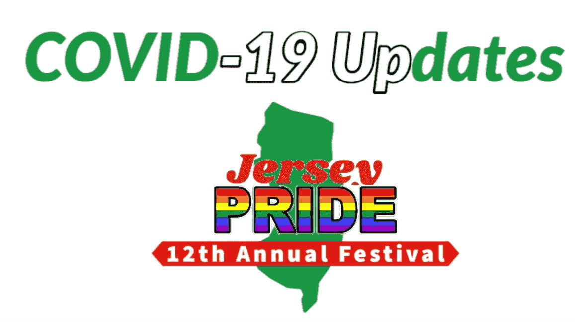 New Jersey Gay Pride LGBT LGBTQ COVID 19 update 2020 pride festival parade