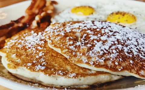 Enjoy breakfast & brunch items all day every day such as our pancakes, avocado toast, & more