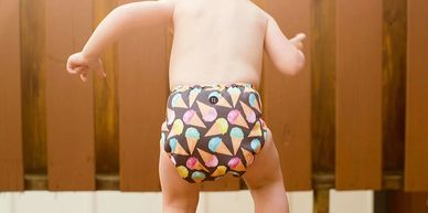 cloth nappies Sunshine Coast, cloth diapers Australia, all in two diaper Sunshine Coast
