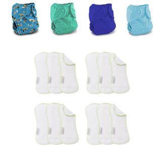 modern cloth nappy packs Sunshine Coast, nappy pack, reusable nappies, cloth diapers, Buttons