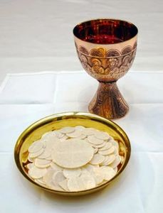 Holy Communion at St. Bartholomew's Church - Little Rock
