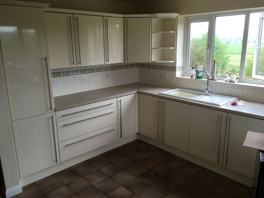 Fully fitted Kitchen New worktops, replacement Doors, Kitchen Installs  Makeovers, Belper Derbyshire