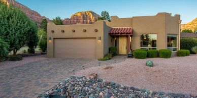 Popular Sedona vacation rental property with amazing views