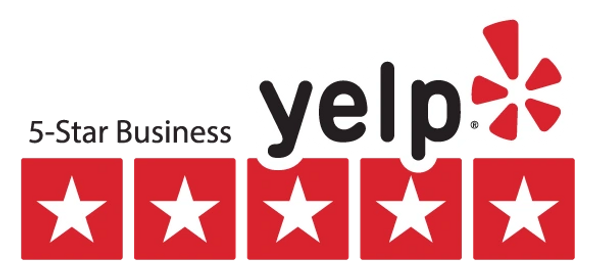 Picture of Yelp 5 star business logo