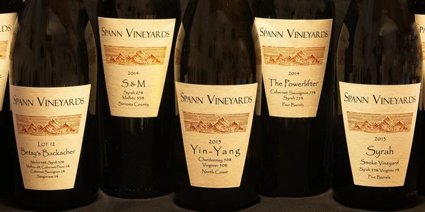Photo of 5 Spann Vineyards wine bottles