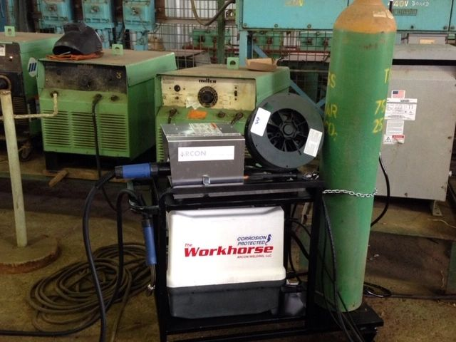 Petrotrin's Engineering Shop using the Arcon Welder 300