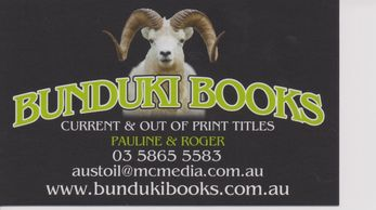 Bunduki Books business card