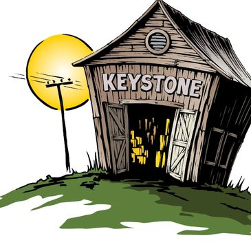 The original Keystone barn where it all started