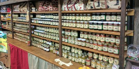 Port Jefferson Outpost Jellies, Relishes, Pickles Full Line.