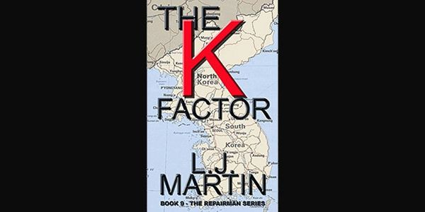 The K Factor by L. J. Martin, action adventure novel, ebook, paperback