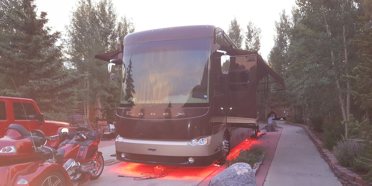 Mobile RV Repair company can install LED accent lighting.
