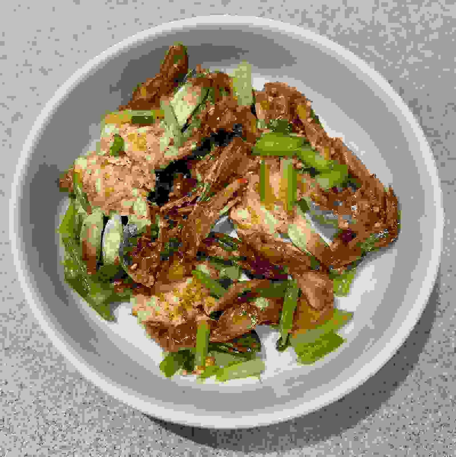 Pan Grilled Soft Shell Crabs with Veggies