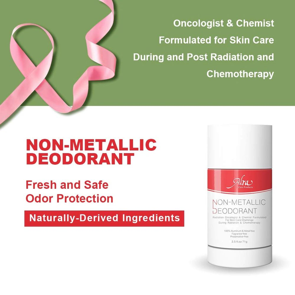 Alra Non Metallic Deoderant for clients going through Cancer treatment or chemo