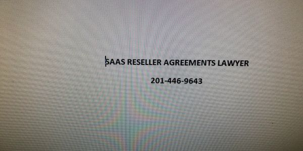 SaaS Reseller Agreement Lawyer Andrew S Bosin LLC drafts templates for vendors & resellers.