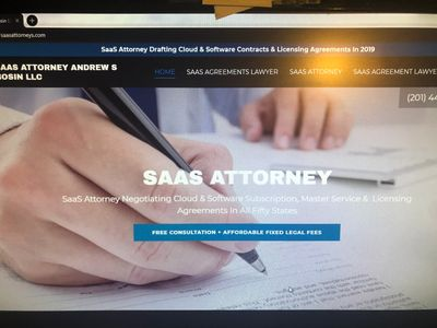 SaaS Attorney Andrew S Bosin LLC provides legal advice to startups, founders and vendors.