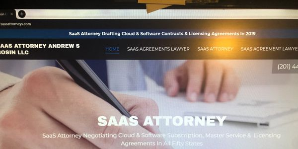 SaaS Attorney Andrew S Bosin LLC offers affordable, fixed rate legal fees packages to founders.