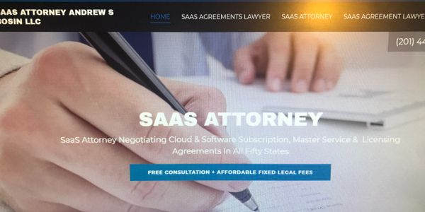 SaaS Contracts Attorney Andrew S Bosin LLC helps startups, co-founders, entrepreneurs and vendors.