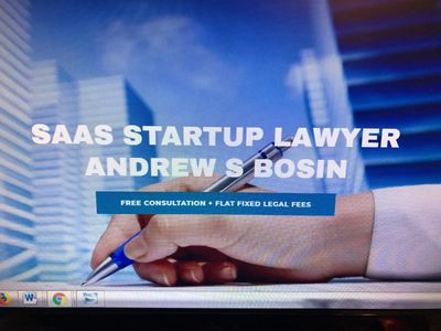 SaaS Startup Lawyer Andrew S Bosin LLC represents SaaS, cloud and software entrepreneurs.