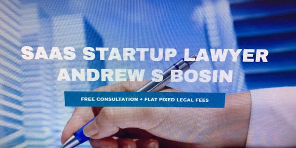 SaaS Attorney Andrew S Bosin LLC helps startups, co-founders, entrepreneurs and vendors.