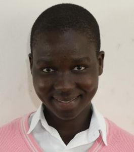 Meet Sarah, we sponsor her education in Uganda through One Girl Can and Ag hair.