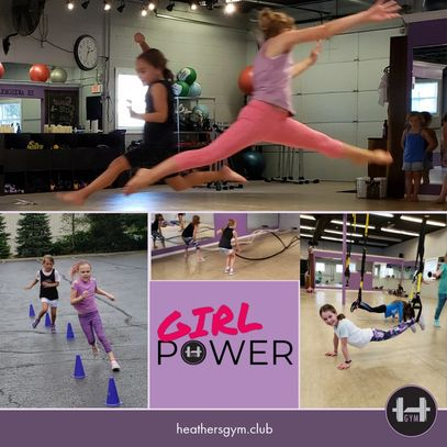 Girl Power Bootcamp at Heather's Gym