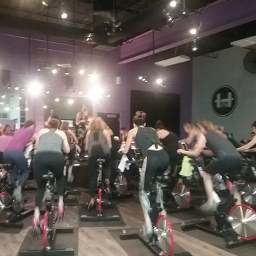 HG Cycle, located inside CrossFit Freedom, offers heart-pumping spin classes that will challenge and inspire you.