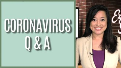 Coronavirus questions answered on That Expert Show with Anna Canzano