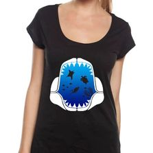 sharks, fear, marine conservation, ocean, apparel, tshirt