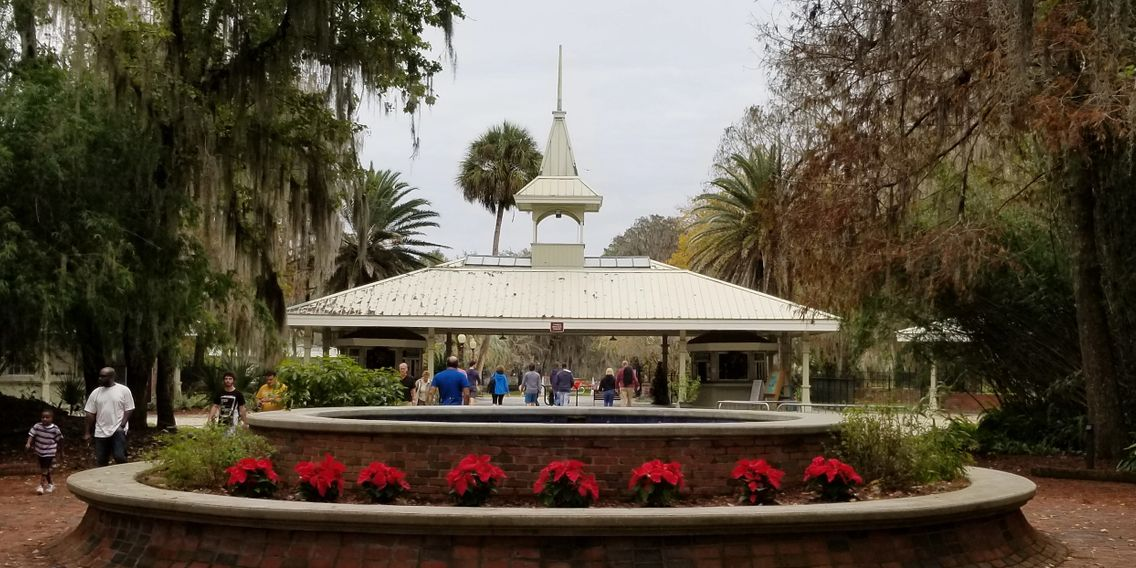 Silver Springs State Park dressed for Christmas 2018