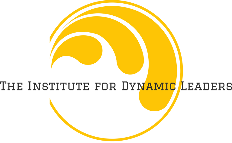 The Institute for Dynamic Leaders logo. Leaders who can influence and support others genuinely
