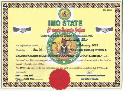 Aku-Ubi registration in Imo State