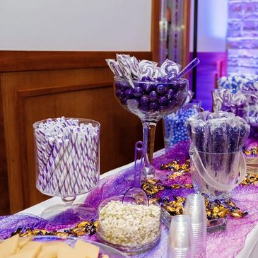 Candy Stations add color, fun and a little sweetness to any celebration!