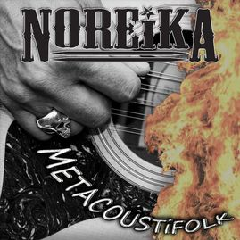 METACOUSTiFOLK EP cover by Noreika