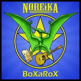 Boxarox EP cover by Noreika