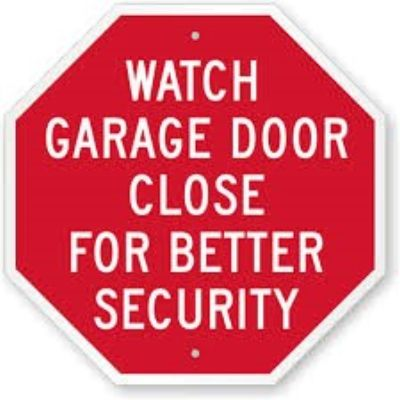 fort worth garage door security
