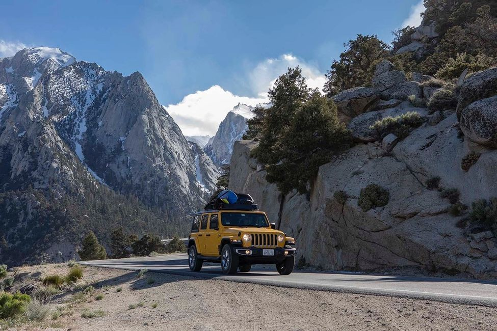 Driving Mt. Whitney in Visit California