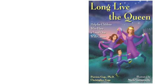 front cover graphic of the book Long Live The Queen