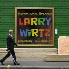 Larry Wirtz magic magician illusionist comedy comedian Chavez Indiana Christian Speaker Foster