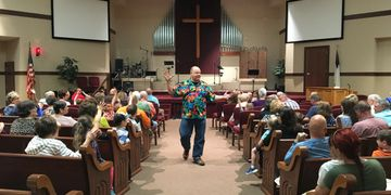 Larry Wirtz christian magician comedian speaker indiana worship
