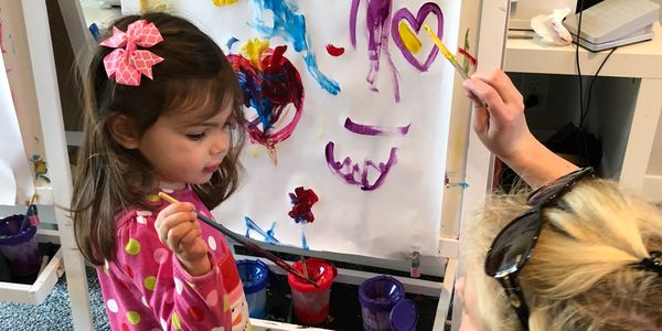 Mommy and Me Art Playgroup in Greenville South Carolina, Toddler Art Classes in Greenville