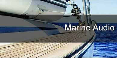 Marine audio speakers, radios, amps in Ohio. Marine audio systems Ohio. Portage Lakes. Baja Boats