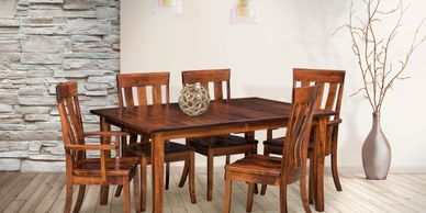The Alexander Dining room Artisan Furniture, Dutch Craft Furnishings,Dutch Craft Amish FurnitureWood