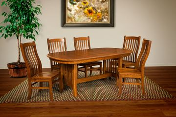 Arts & Crafts Dining Room,Artisan Furniture, Amish Wood furniture,dutch craft furnishings